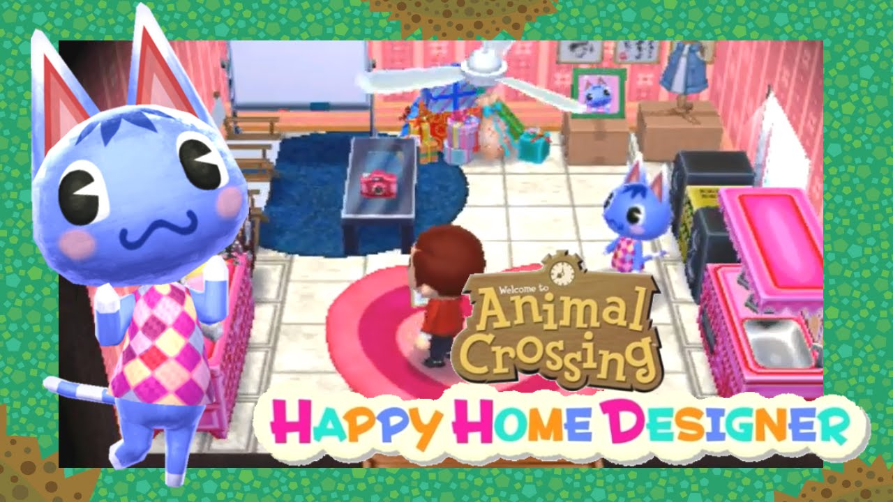 Animal Crossing Happy Home Designer Day 9 An office/studio ...