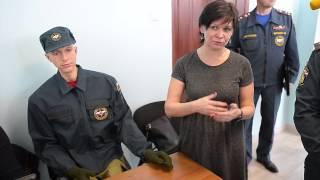 Показ образцов современной пожарно-спасательной техники МЧС России