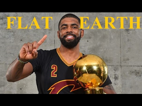 NBA Star KYRIE IRVING Radio Interview - says the Earth is Fl