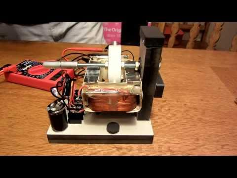 how to make an electromagnet from a transformer