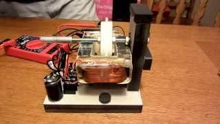Microwave Transformer Magnet Motor