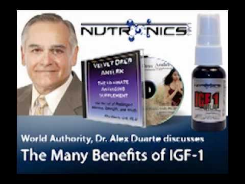 IGF-1 Deer Antler Velvet Spray | Dr. Alex Duarte Interview