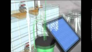 3D Animation of Solar CITIES 3-tank HDPE IBC biogas system