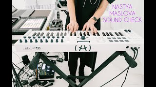 Gambar cover NASTYA MASLOVA - Sound check in process