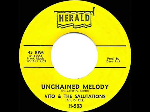 1963 Vito & the Salutations - Unchained Melody