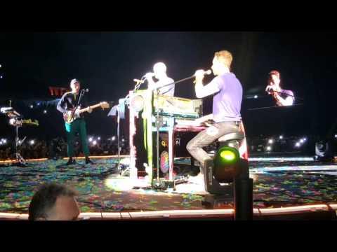 Coldplay en Lima - Everglow desde el Campo @Estadio Nacional de Lima