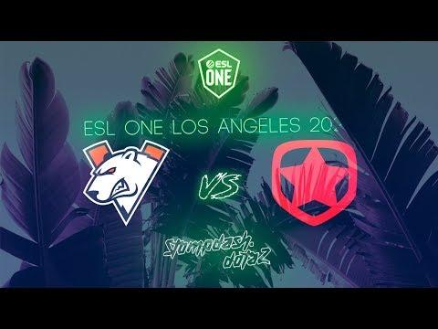 🔴VIRTUS PRO(VP) VS GAMBIT | BO3 | ESL ONE LA ONLINE | GAME 2 START 20:20