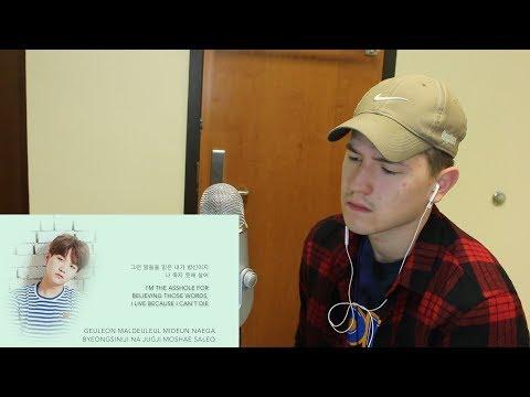Straight poetry... BTS Suga, Jin, & Jungkook - 'so far away REACTION