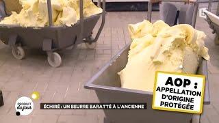 Echiré : un beurre baratté à l'ancienne