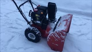 первые впечатления и обзор снегоуборщика MTD ME61