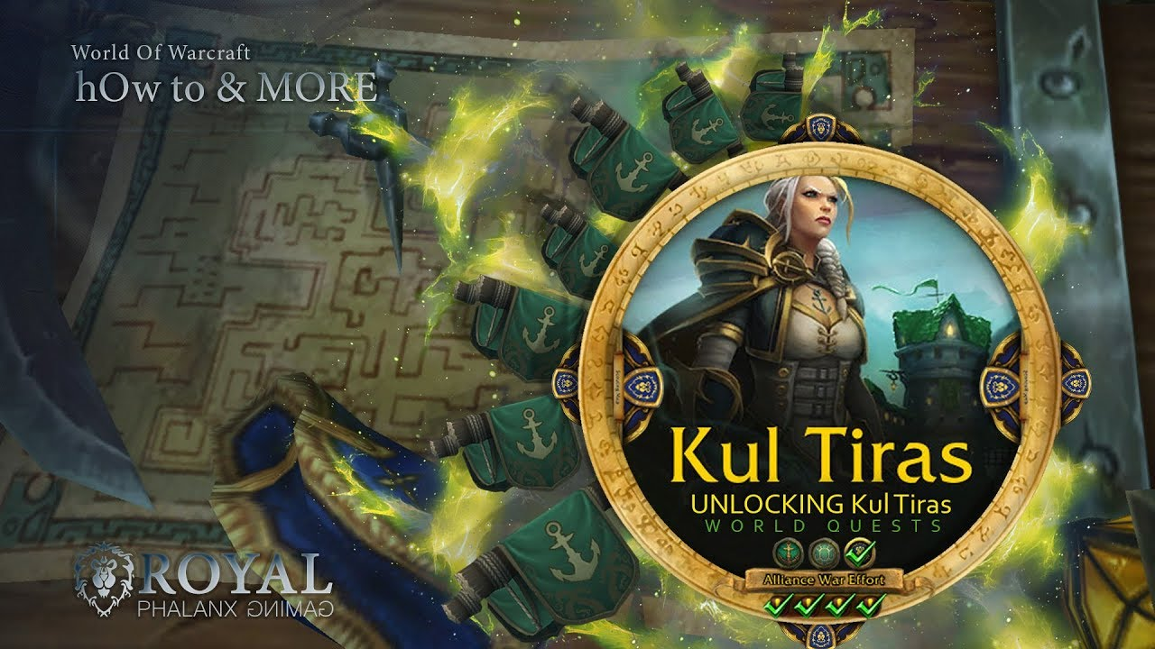 UNLOCKING Kul Tiras, 7th Legion and Champions of Azeroth World Quests
