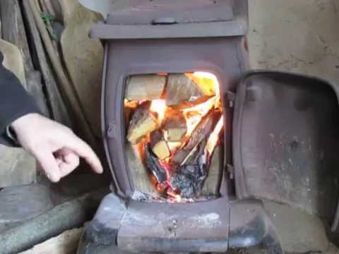 - The Best Way To Make A Fire In Your Woodstove - YouTube