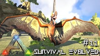 ARK: SCORCHED EARTH - NEW TAPEJARA SOLO TAMING TRICKS !!! E11 (ARK SURVIVAL EVOLVED GAMEPLAY)