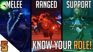 Battlerite Basics: Know Your Role