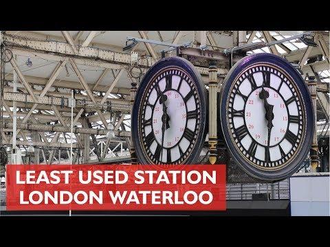 Least Used Station - London Waterloo