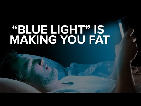 Blue Light Is Making You Fat, Sick, & Tired