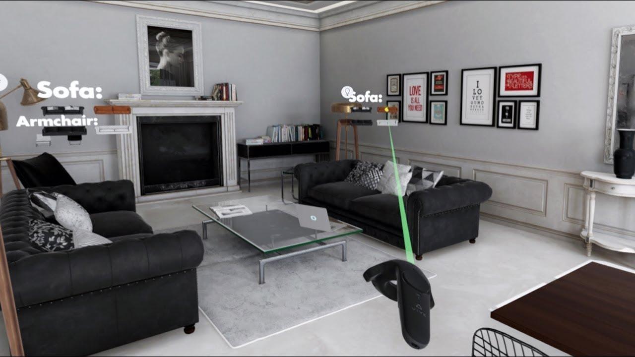 oneiros - vr interior design interactive experience
