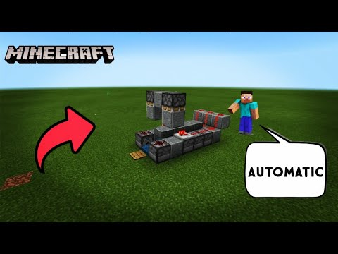 How To Make A Rapid Fire Tnt Cannon In Minecraft | AUTOMATIC | Steve Universe
