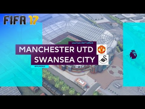 FIFA 17 - Manchester United vs. Swansea City @ Old Trafford