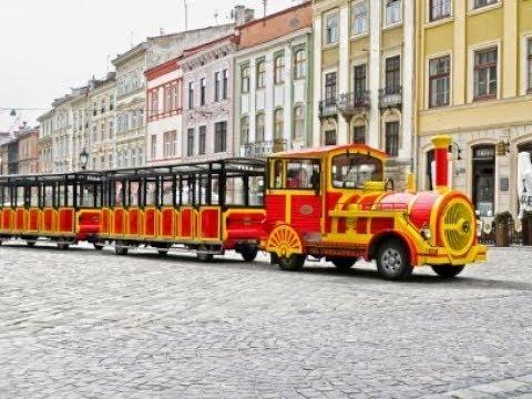 Lviv Şehir turumuz ukrayna usulu TukTuk ile