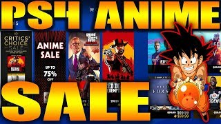 PS4 ANIME SALE 2019 SAVE Up to 75% OFF NA