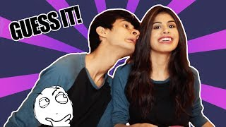 Guess The Lyric Challenge!!! ( ft.Malvika Sitlani )