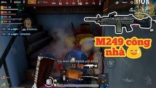 PUBG Mobile - Team Săn Toàn Bộ Thính Trở Lại =]]   M249 Đổ Bộ Tàn Phá Rozhok :v