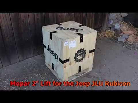 Jeep JLU Mopar