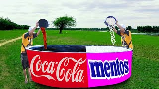 5 CRAZY EXPERIMENTS With Coca Cola & Mentos !!!