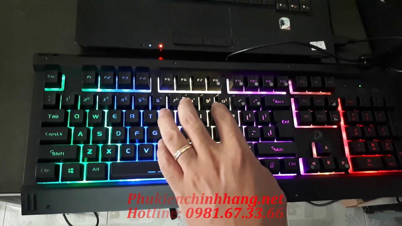 Review bàn phím DareU LK145 giả cơ  rẻ không tưởng chỉ 350k