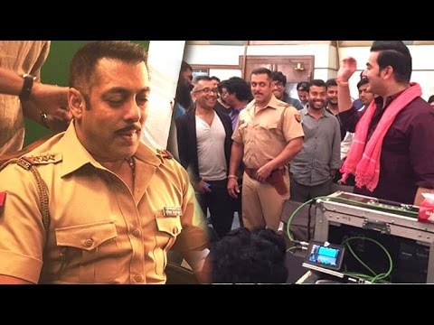 Bigg Boss 10 Dabangg Promo Shoot - Salman Khan, Arbaaz Khan - Behind The Scenes