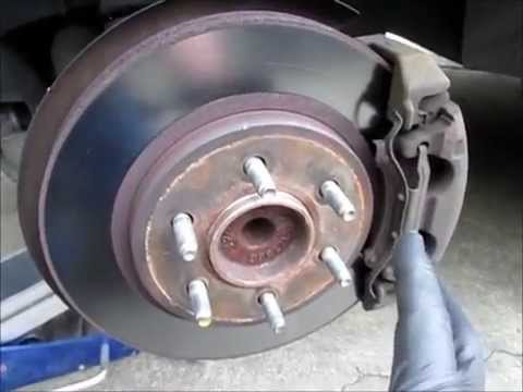 Front Wheel Bearing Replacement >> 2006 Ford Expedition front wheel bearing replacement - YouTube