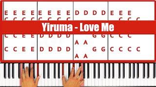 Love Me Yiruma Piano Tutorial Original
