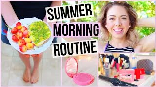 My Summer Morning Routine! 2015 - Easy Breakfast Idea!