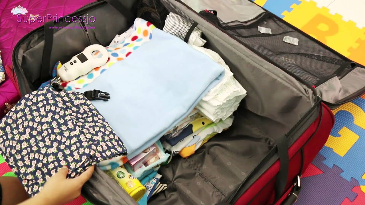 How To Pack A Suitcase For Family Travel