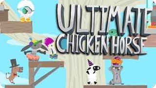 ¡OLZ SKULL EPICO! | ULTIMATE CHICKEN HORSE Con Sara y Luh