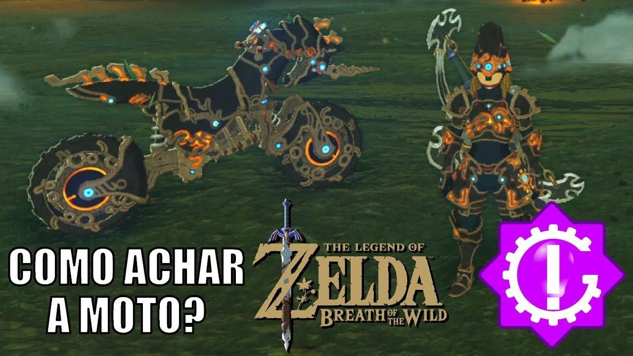 Zelda Breath Of The Wild Master Cycle: Como E Onde Achar A Moto (Master Cycle Zero) Da DLC Em