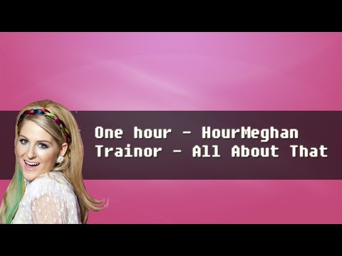 One hour -  HourMeghan Trainor - All About That Bass