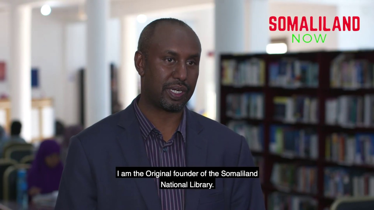 Ahmed Elimi shares his story of #Somaliland's first national library!