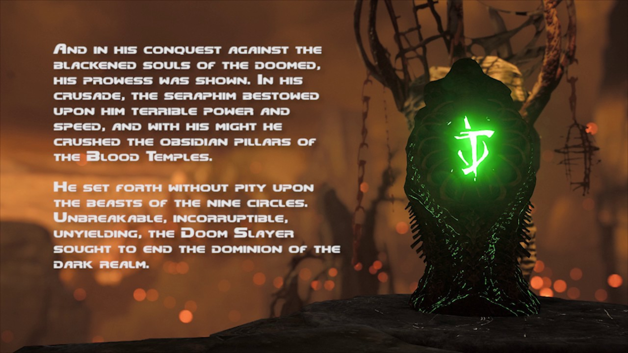 doomslayer's origin from the 2016 reboot of doom