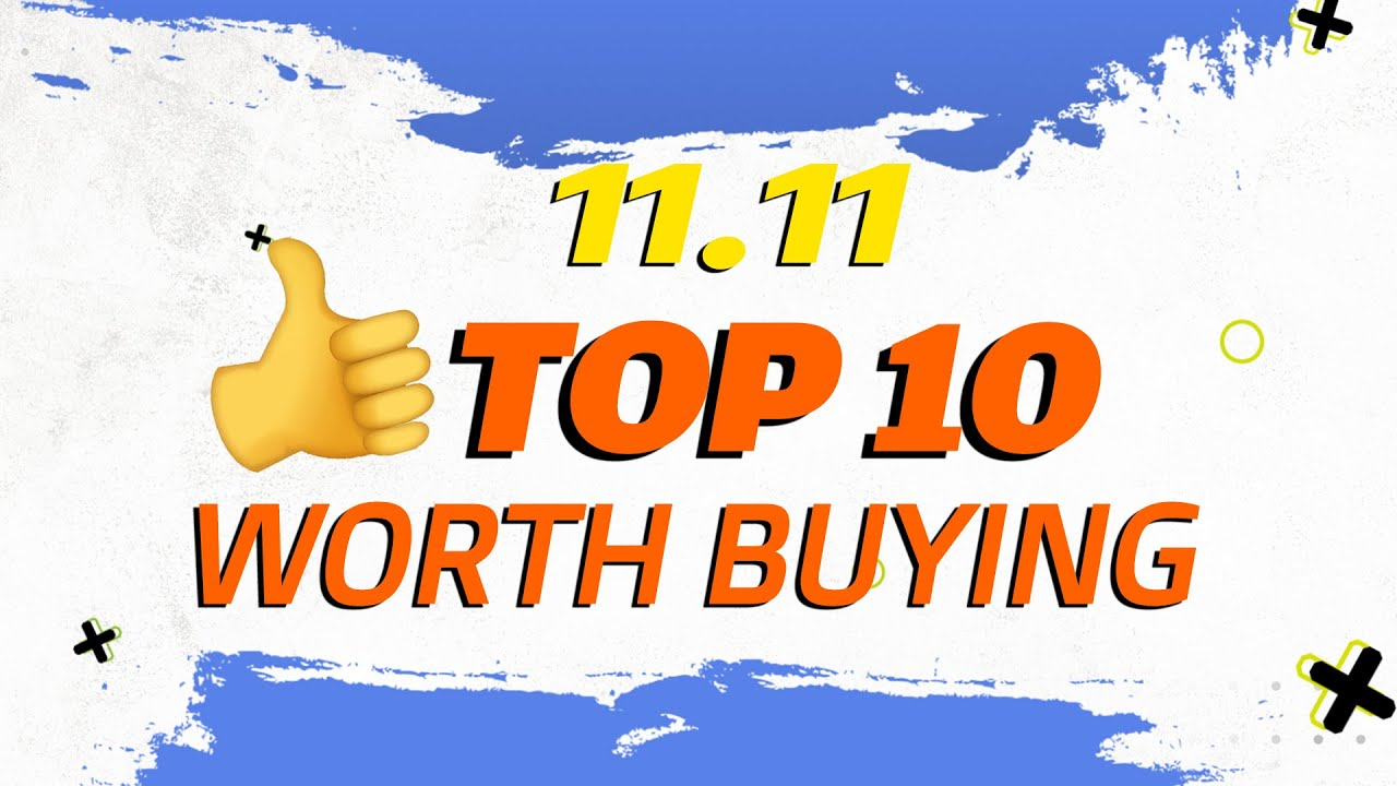TOP 10 You Can't' Miss at Gearbest 11.11 Shopping Festival