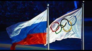 Журналистка развернула флаг России, наплевав на запрет МОК