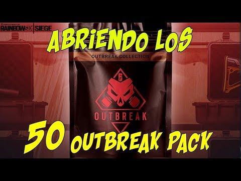 ABRIENDO 50 OUTBREAK PACK | OPERATION CHIMERA | MISION OUTBREAK | ESPAÑOL | DLC