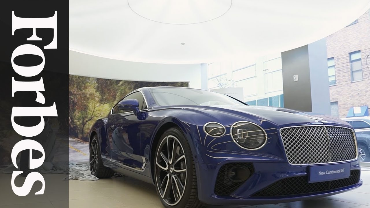 The New Continental Gt A Look At Bentley S New Luxury Car Forbes