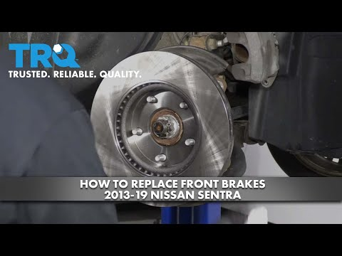 How to Replace Front Brakes 2013-19 Nissan Sentra