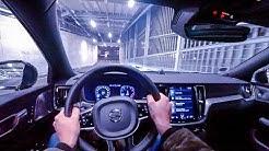 2019 Volvo V60 T4 R-Design (190HP) NIGHT POV DRIVE Onboard (60FPS)