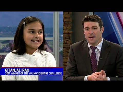 Indian American girl Wins America's Top Young Scientist challenge