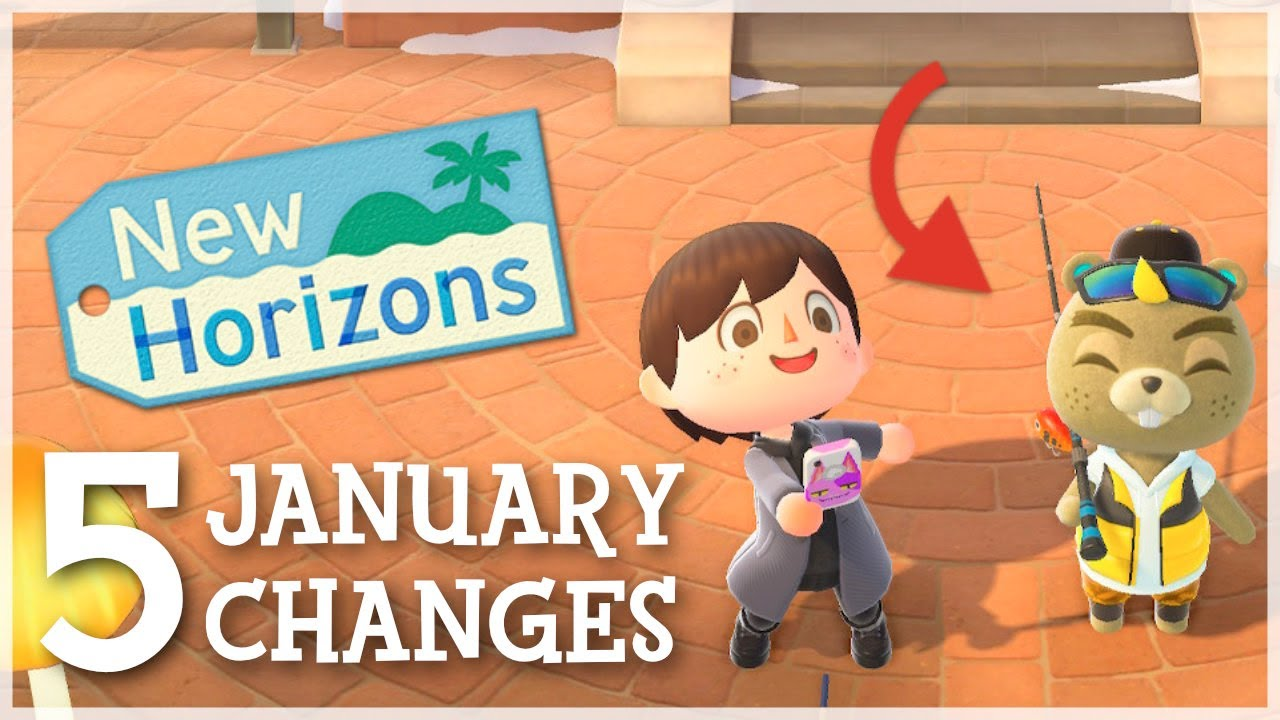 Animal Crossing New Horizons - 5 EXCITING January Changes (Events, Updates & More)