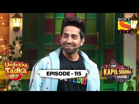 Ayushmaan Khurrana And Kaju Katli | Undekha Tadka | Ep 115 | The Kapil Sharma Show Season 2