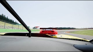 C7R vs 458 GT2 @ Spa / Assetto Corsa multiplayer